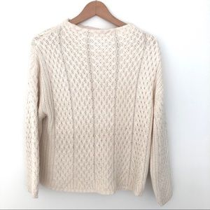 🔮2/$25 ZARA KNIT Cable Sweater